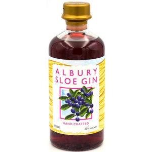 Albury Hand Crafted Sloe Gin – 50cl