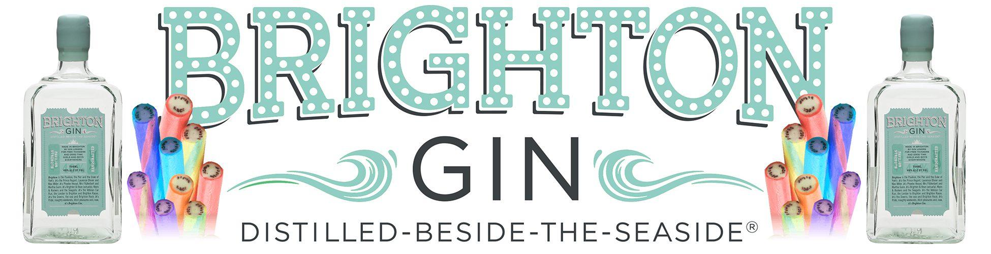 Brighton Gin Banner